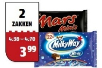 mars milkyway snickers twix bounty of m en amp m minis