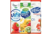 vifit goedemorgen of optimel drink