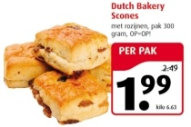 dutch bakery scones