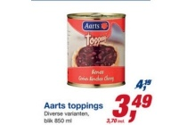 aarts toppings