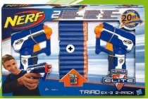 nerf elite triad 2 pack