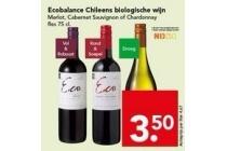 ecobalance chileens biologische wijn
