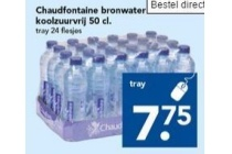 chaudfontaine bronwater koolzuurvrij 50 cl