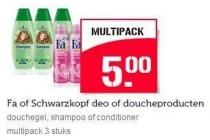 fa of schwarzkopf deo of doucheproducten