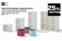 multi kub modulair opbergsysteem