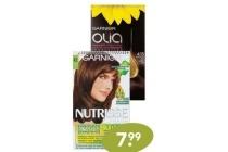 nutrisse of olia haarkleuring