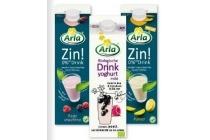 arla zin of biologische drinkyoghurt