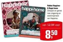 pakket happinez en amp happi home