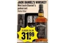 jack daniel s whiskey met pokerset
