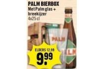 palm bierbox met glas