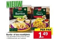 kania burrito of taco maaltae dmix