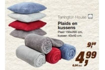 tarrington house plaids en kussens