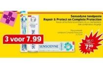 sensodyne tandpasta repair en amp protect complete protection