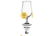 bierglazen set van 4 stuks