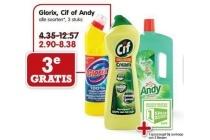 glorix cif of andy