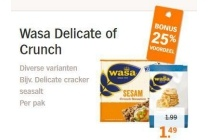 wasa delicate of crunch