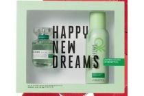 benetton kadoset happy new dreams live free
