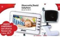 alecto observatie beeld babyfoon