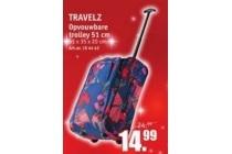 travelz opvouwbare trolley 51 cm