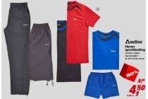 active heren sportkleding