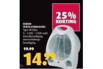 eurom ventilatiekachel