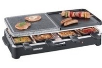 severin raclette party steen grill rg 2341