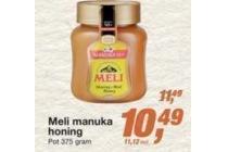 meli manuka honing