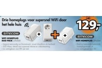 drie sitecom homeplugs