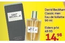 david beckham classic men eau de toilette