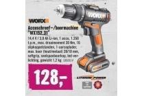 worx accuschroef boormachine wx152 31
