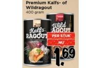 premium kalfs of wildragout