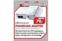 powerline adapter dlan 500 wifi starterkit