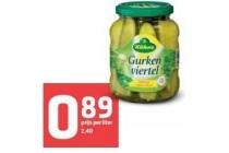kuhne gurkenviertel pot 370 ml