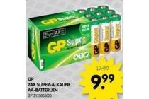 gp 24x super alkaline aa batterijen
