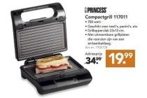 princess compactgrill 117011