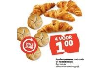 jumbo ovenverse croissants of kaiserbroodjes
