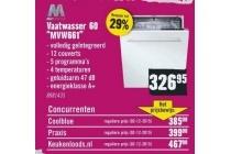 vaatwasser 60 mvw661