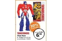 transformers titan hero