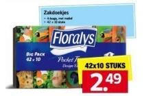 floralys zakdoekjes xxl