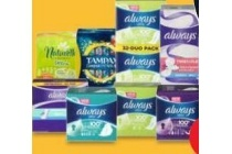 always tampax en naturella