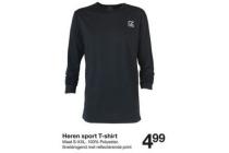 heren sport t shirt