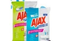 ajax schoonmaakdoekjes
