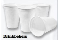 plastic drinkbekers