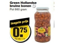 green hollandse bruine bonen