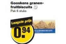gooskens granenfruitbiscuits