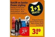 got2b en junior power styling