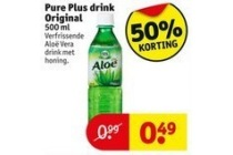 pure plus drink original 500 ml en euro 0 49