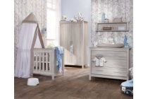 set ledikant commode en hang legkast malaga