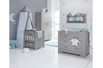 set ledikant commode en hang legkast montana