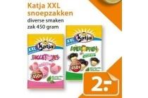 katja xxl snoepzakken